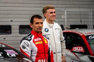 Heiko Eichenberg (Fritzlar) und Erik Johansson (S-Gnosjö) AVIA Sorg Rennsport BMW M4 GT4