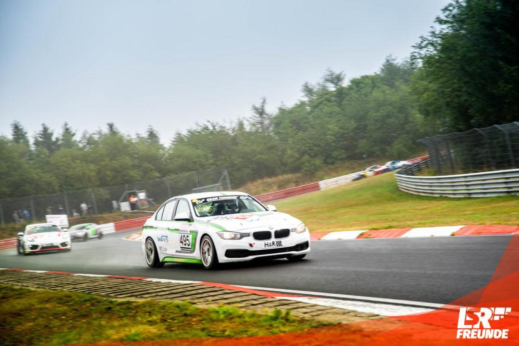Manheller Racing BMW 330i #495 Markus Fischer, Ronny Lethmate, Martin Owen und Kurt Strube