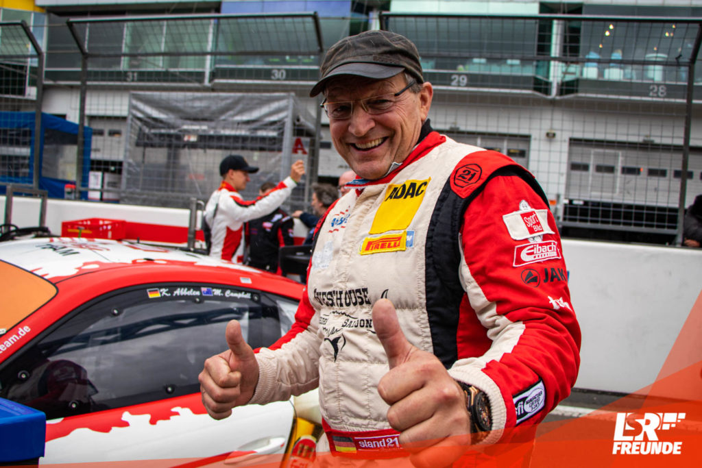 Klaus Abbelen Frikadelli Racing ADAC GT-Masters 2019 Nürburgring