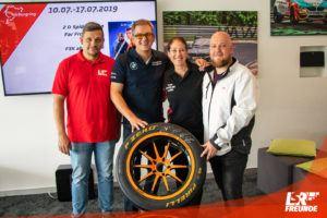 Speedline Ronal LSR-Freun.de Race4Hospiz Felgenübergabe