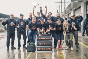Team Eurorepar Nett Motorsport VLN 6 2019
