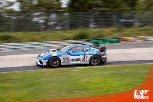 Mühlner Motorsport Porsche Cayman GT4 #979 VLN 7 2019
