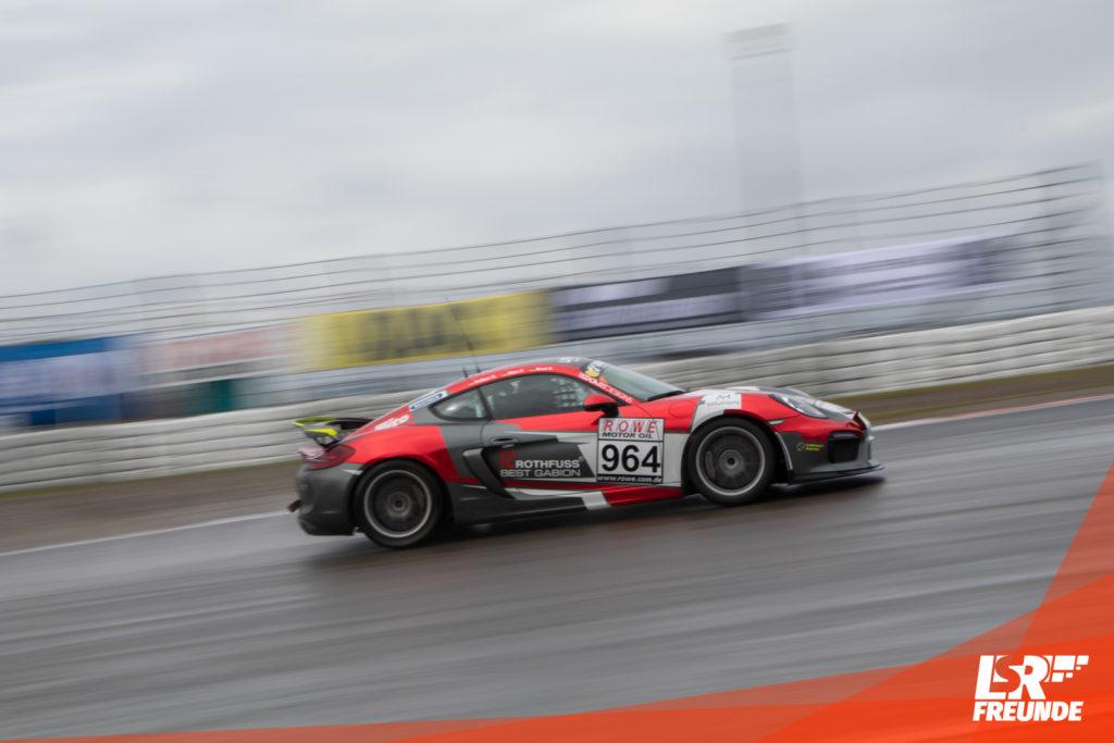 Aimpoint Racing Porsche Cayman GT4 #964 VLN 6 2019