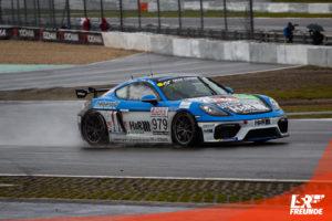 Mühlner Motorsport Porsche Cayman GT4 #979 VLN 6 2019