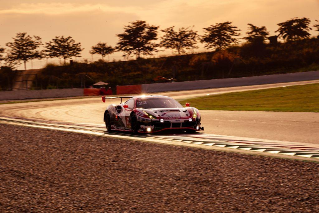 WTM Ferrari 488 GT3 24h-Barcelona 2019