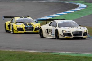 HCB-Rutronik Racing Team Audi R8 LMS GT3 Dunlop 60 DMV-GTC Hockenheim 2019