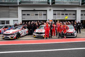 Team AVIA racing AVIA Sorg Rennsport VLN 2019
