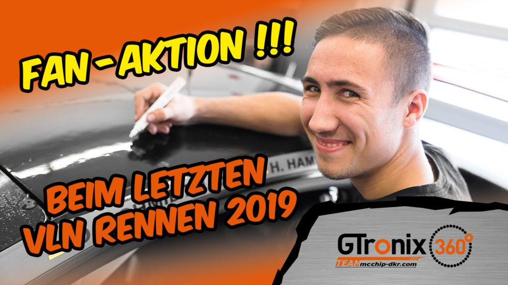 GTronix360° Team mcchip-dkr Fan-Aktion