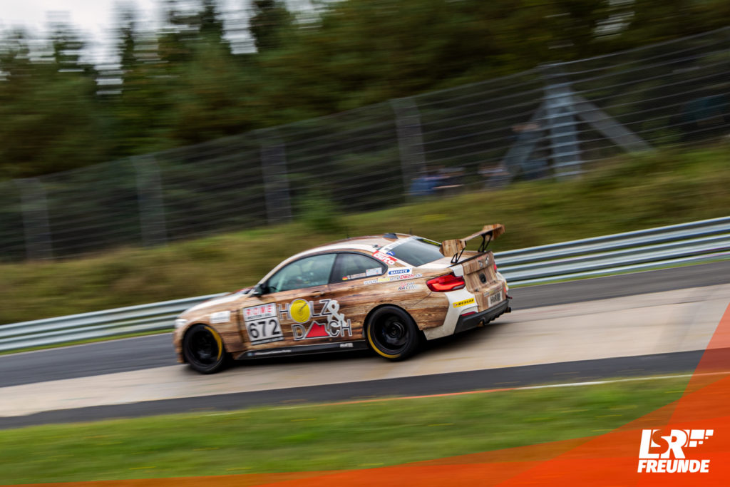 Lifecarracing BMW M240i CUP 5 #672 VLN 7 2019