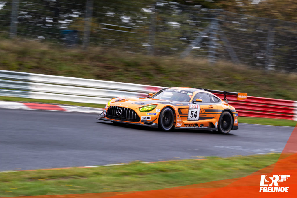 BLACK FALCON Mercedes-AMG GT3 #54 VLN 8 2019