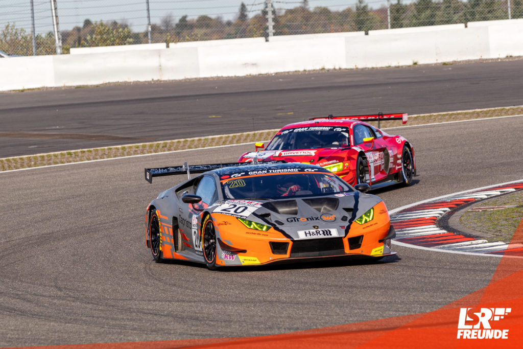 GTronix360° Team mcchip-dkr Lamborghini Huracan GT3 Evo #20 VLN 9 2019