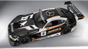 Black Falcon Mercedes-AMG GT3 Kyalami 2019
