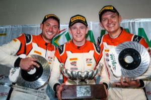 Porsche 911 GT3 R, Frikadelli Racing Team (31), Nick Tandy (GB), Dennis Olsen (N), Mathieu Jaminet (F) Kyalami 2019 IGTC