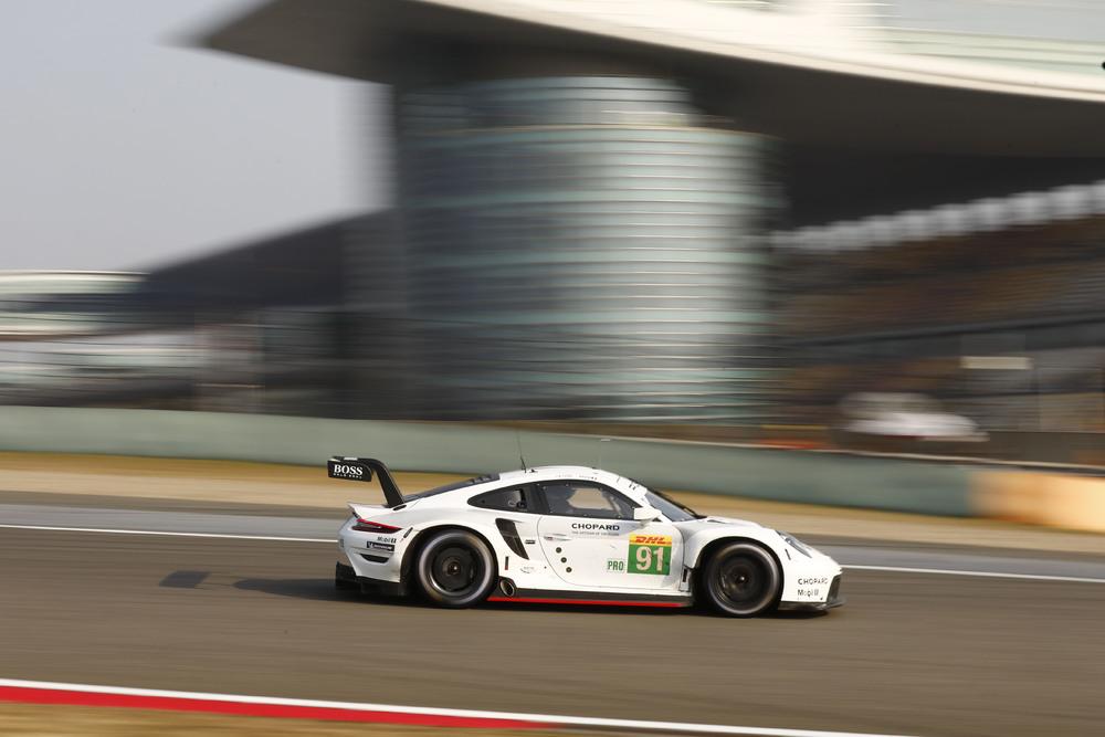 Porsche 911 GT3 RSR #91 FIA WEC 2019 Shanghai