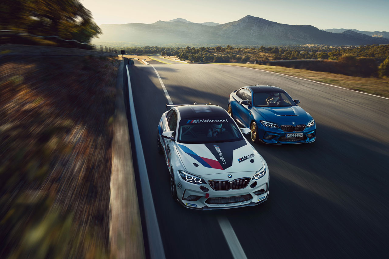 BMW M2 CS und BMW M2 CS Racing