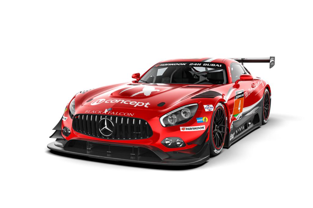 Black Falcon Mercedes-AMG GT3 24h-Series 2020