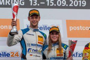 Team HCB-Rutronic Racing ADAC GT Masters Dennis Marschall Carrie Schreiner