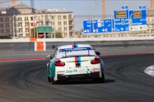 Team fun-M Motorsport BMW M240i Dubai 24h 2020
