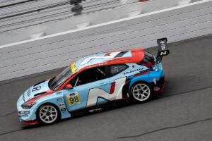 #98 Bryan Herta Autosport Hyundai Veloster N TCR, TCR: Michael Lewis, Mason Filippi