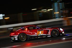BLACK FALCON Mercedes AMG GT3 #4 Dubai 24h 2020