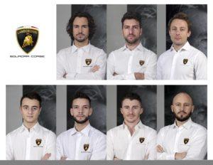 Fahrerkader Lamborghini Squadra Corse 2020