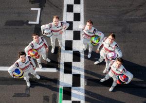 DTM Test Lausitzring 2019 Mike Rockenfeller, Robin Frijns, René Rast, Jamie Green, Nico Müller, Loïc Duval