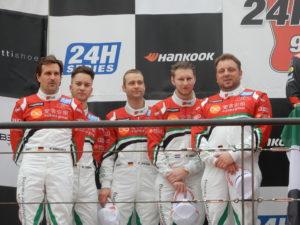 Markus Winkelhock, Mike-David Ortmann, Christopher Haase, Rik Breukers, Dimitri Parhofer