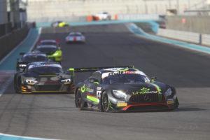 HTP Winward Motorsport Mercedes-AMG GT3 Dubai 2020