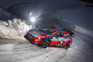 2019 FIA World Rally Championship Round 02, Rally Sweden 14-17 February 2019 Thierry Neuville, Nicolas Gilsoul, Hyundai i20 Coupe WRC