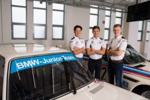BMW Junior Team, Dan Harper, Max Hesse, Neil Verhagen.