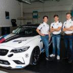 BMW Junior Team, Dan Harper, Max Hesse, Neil Verhagen.