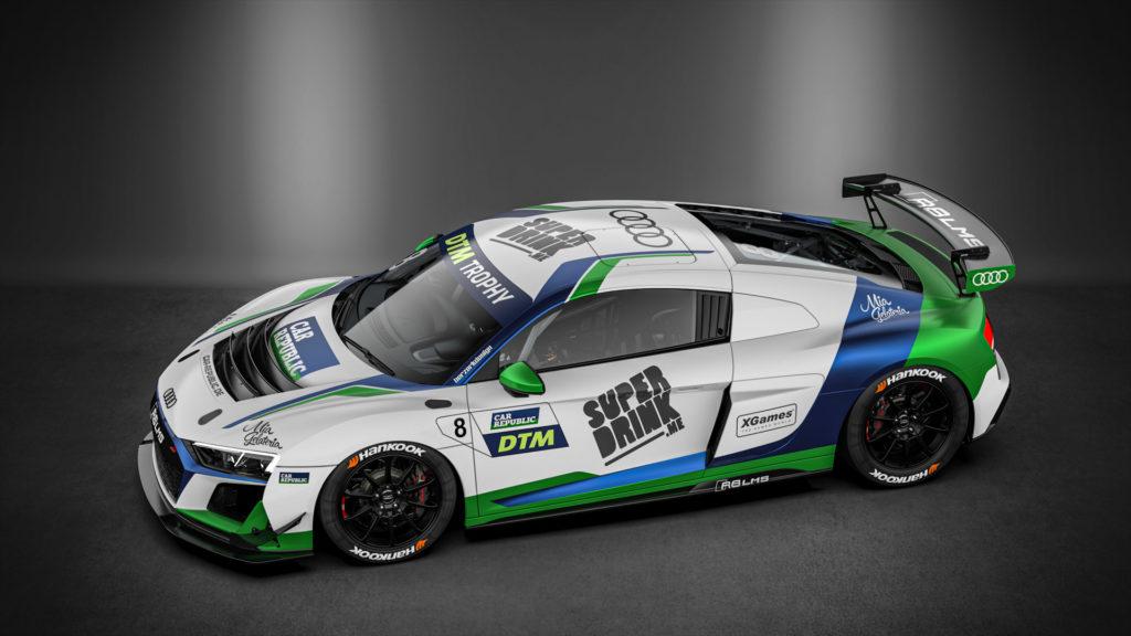 Superdrink by Car Republic Audi R8 LMS GT4 DTM Trophy 2020