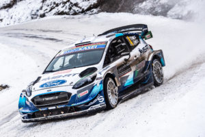 WM-Rallye Monte-Carlo Ford Fiesta WRC 2020