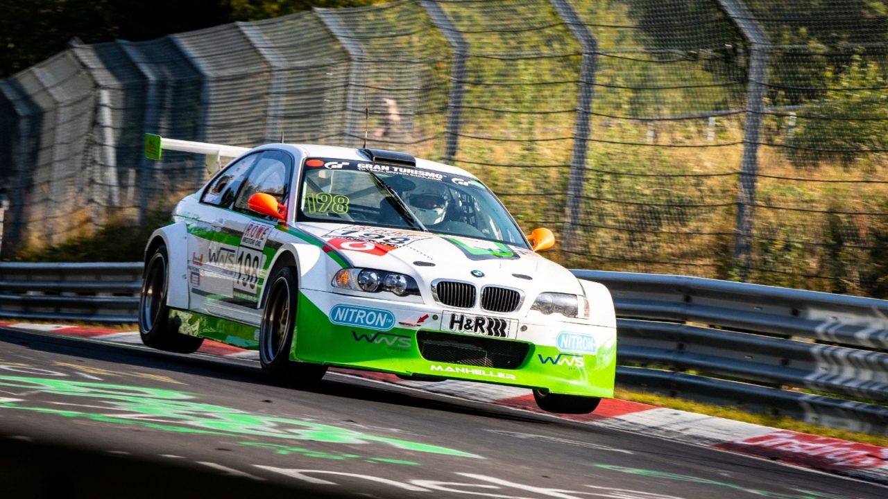 Manheller Racing BMW M3 GTR VLN 2015