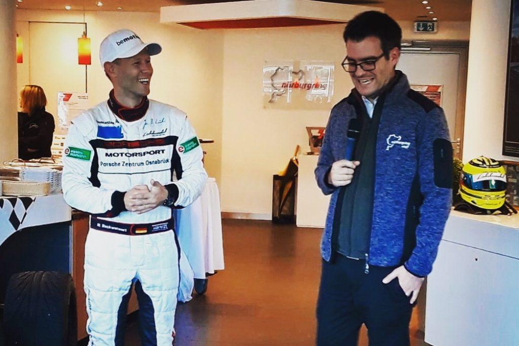 Matthias Beckwermert und Alexander Kraß Nürburgring Lounge