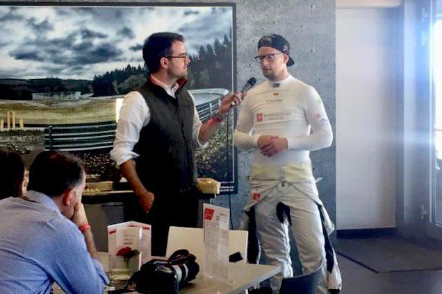Alexander Kraß und Patrick Schneider Nürburgring Lounge