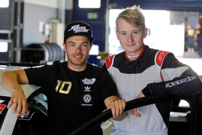 Benjamin Leuchter und Marek Schaller Max Kruse Racing DMV NES 500