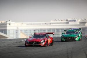 BLACK FALCON Mercedes-AMG GT3 bei den 24H Dubai 2019
