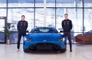 Ticknell und Westbrook Aston Martin Le Mans 2020