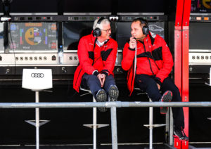 Arno Zensen und Kimmo Liimatainen Team Rosberg