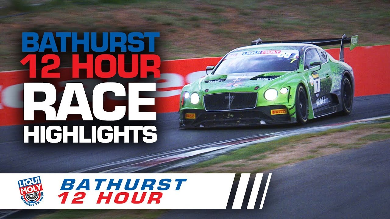 BATHURST 12HR 2020 race highlights thumbnail