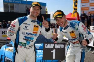 Patrick Niederhauser und Kelvin van der Linde HCB Rutronic Racing ADAC GT Masters 2020