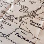 Karte des alten Nürburgrings