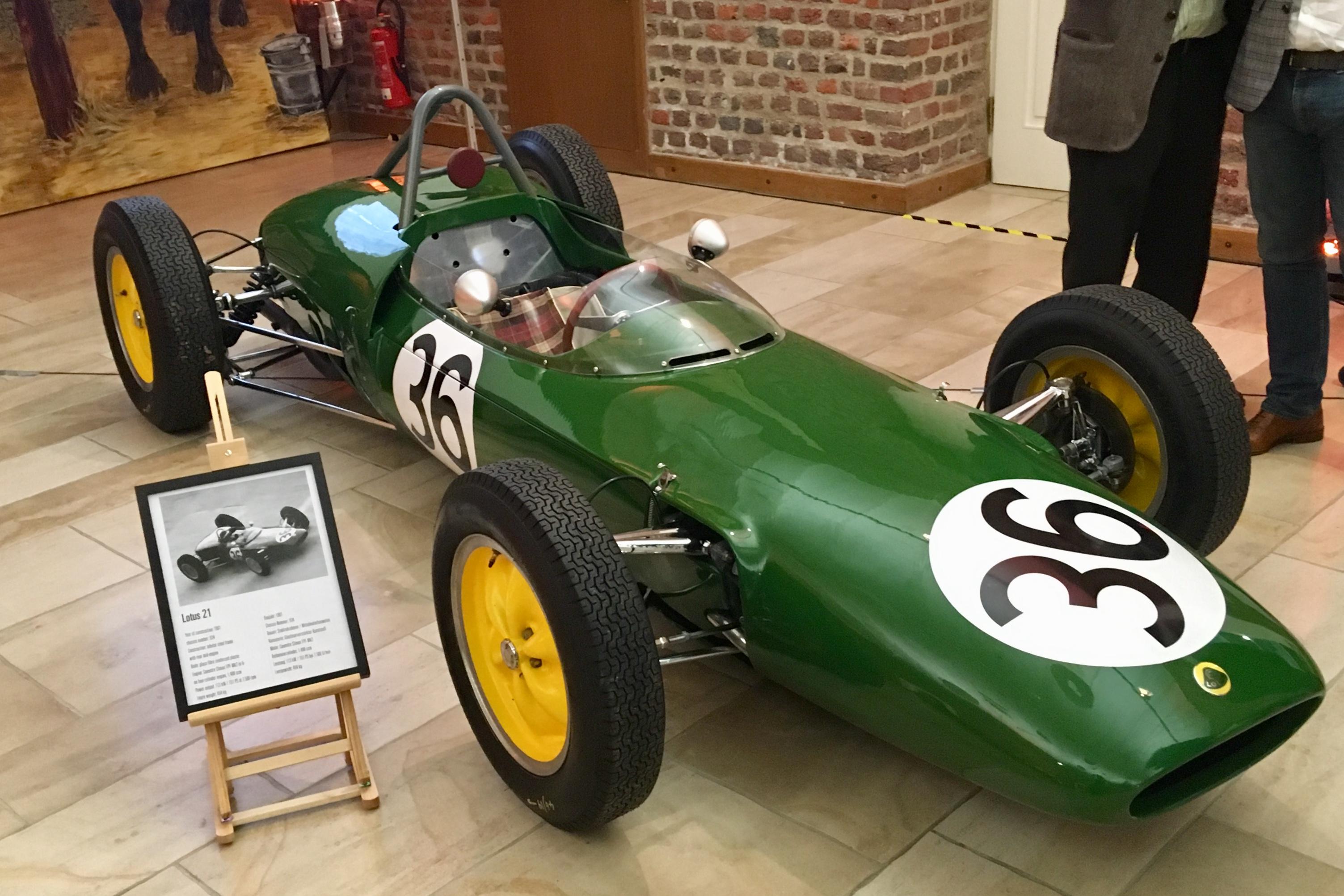 Lotus 21 von Jim Clark