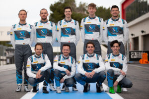 R-Motorsport Endurance Cup team: Marvin Kirchhöfer, Luca Ghiotto, Hugo de Sadeleer, Max Hofer, Jake Dennis, Tom Blomqvist, Ricky Collard, Daniel Juncadella and James Pull
