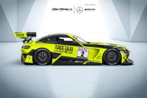 GetSpeed Mercedes-AMG GT3 #2 Nürburgring Langstrecken-Serie 2020
