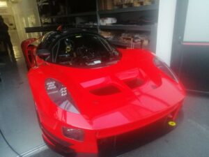SCG 004C Glickenhaus Racing Red