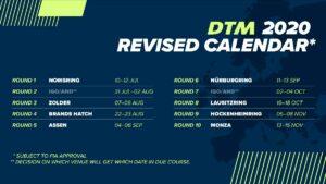 Neuer DTM Kalender 2020