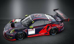 Huber Motorsport Porsche 911 GT3 R für die SP9 der Nürburgring Langstrecken-Serie