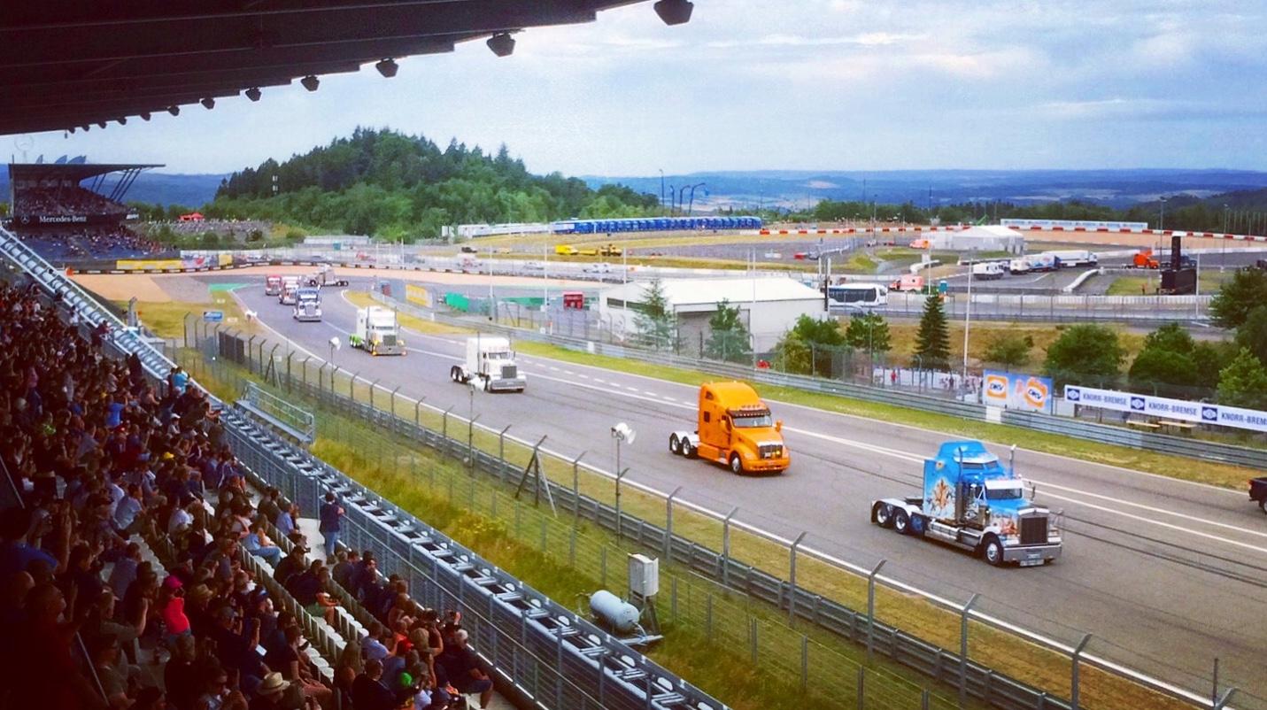 Multifunktionale Anlage mit tollen Veranstaltungen: die Grand-Prix-Strecke des Nürburgrings | Foto: Alexander Kraß